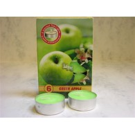 theelicht geur 18x40 box a 6 pc green apple