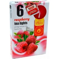 theelicht geur 18x40 box a 6 pc raspberry