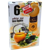 theelicht geur 18x40 box a 6 pc white tea