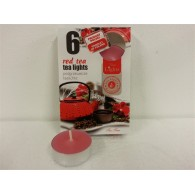 theelicht geur 18x40 box a 6 pc red tea