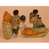 muis met mais 2 assortiment